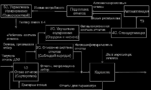Адаптация методики 5С для снижения трудоемкости подготовки отчетов
